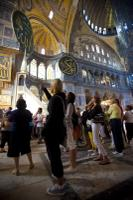 Hagia Sophia - Visitors